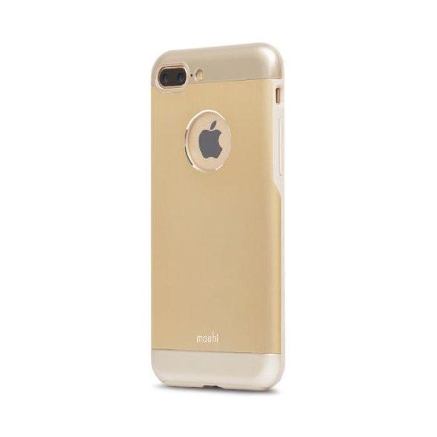 Moshi iGlaze Armour for iPhone 7/8 Plus Satin Gold-2