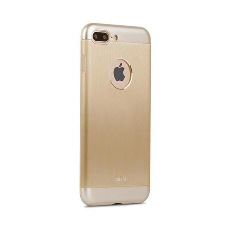 Moshi iGlaze Armour for iPhone 7/8 Plus Satin Gold-3