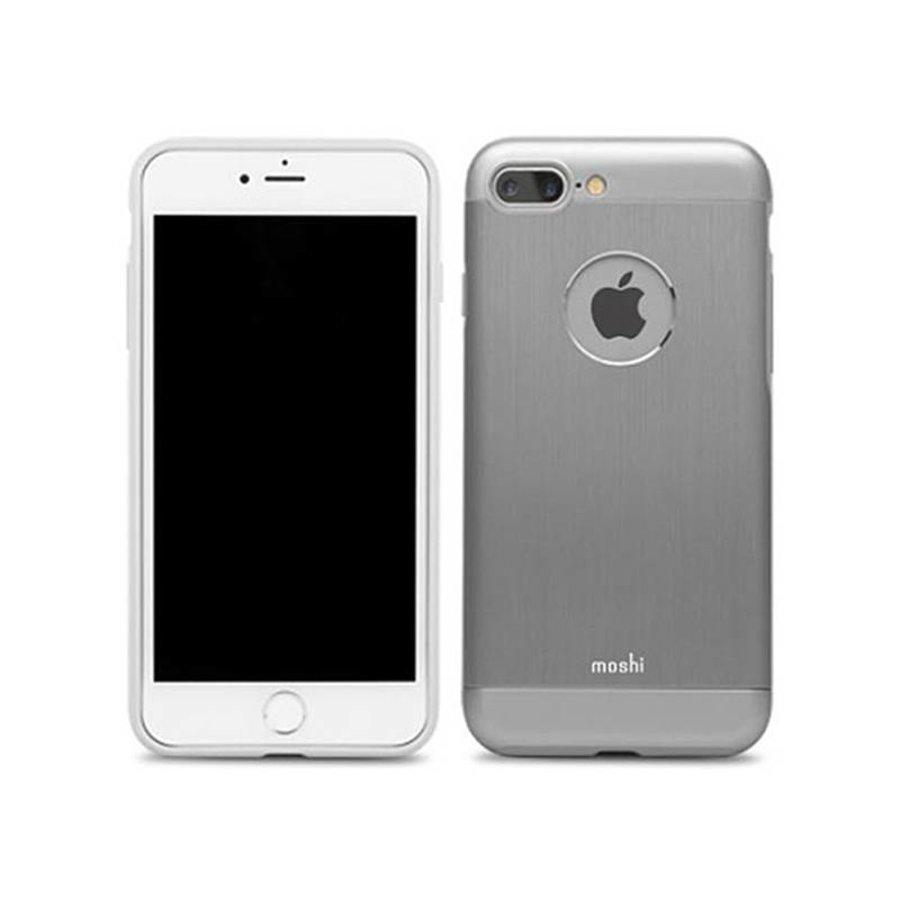 Moshi iGlaze Armour for iPhone 7/8 Plus Gunmetal Gray-1