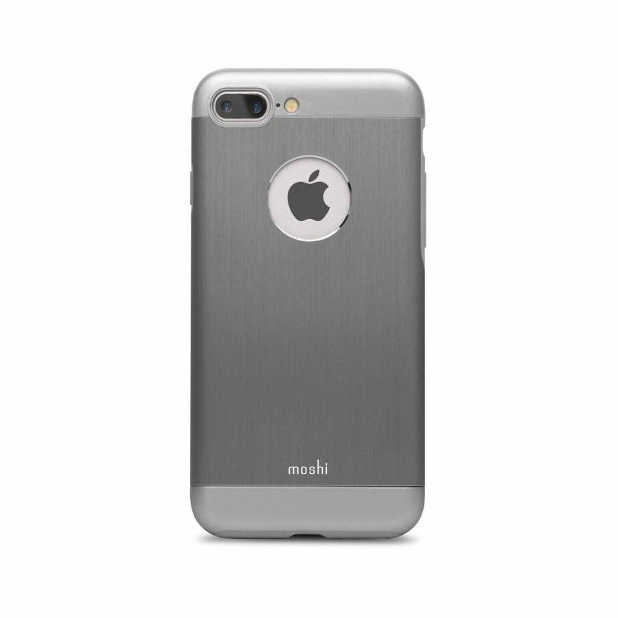 Moshi iGlaze Armour for iPhone 7/8 Plus Gunmetal Gray-2