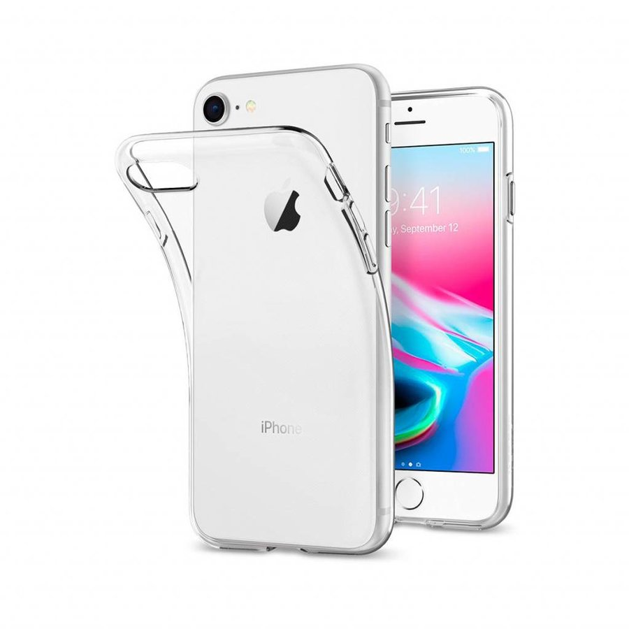 Spigen Liquid Crystal for iPhone 7/8 crystal clear-4