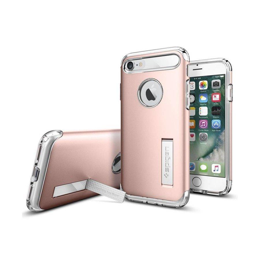 Spigen Slim Armor for iPhone 7 rose gold colored-1