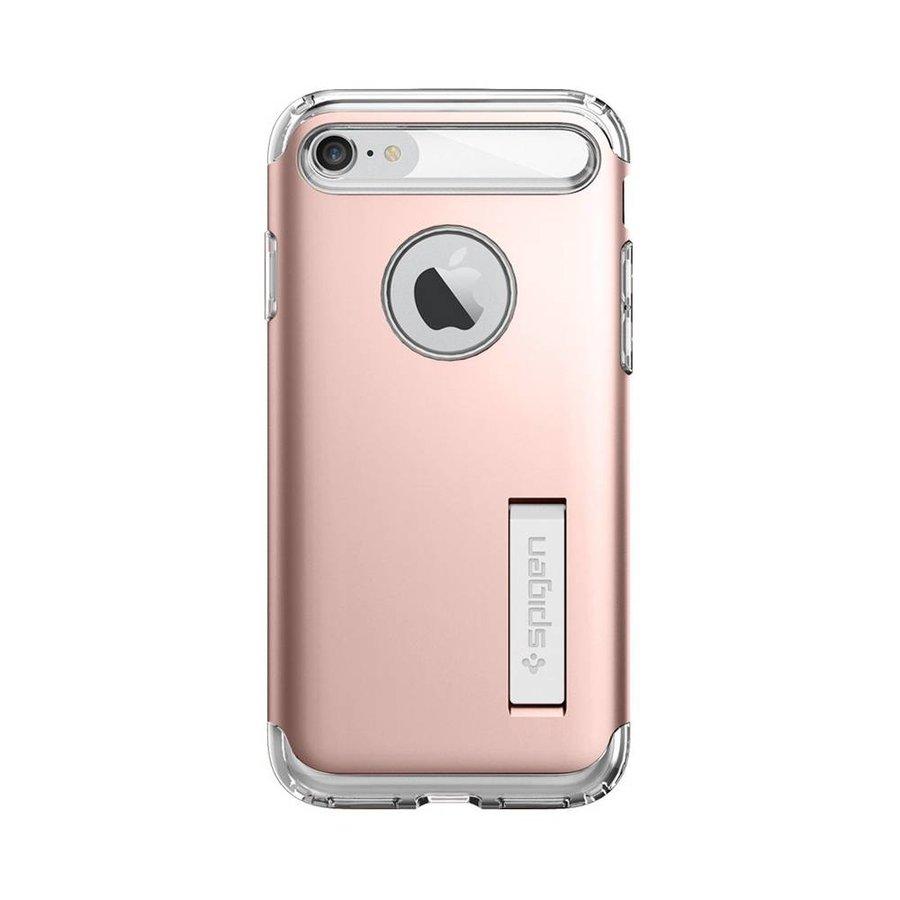 Spigen Slim Armor for iPhone 7 rose gold colored-2