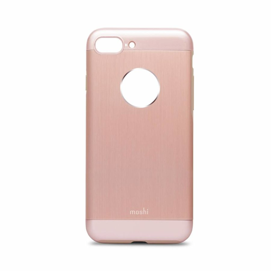 Moshi iGlaze Armour for iPhone 7/8 Plus golden rose-1