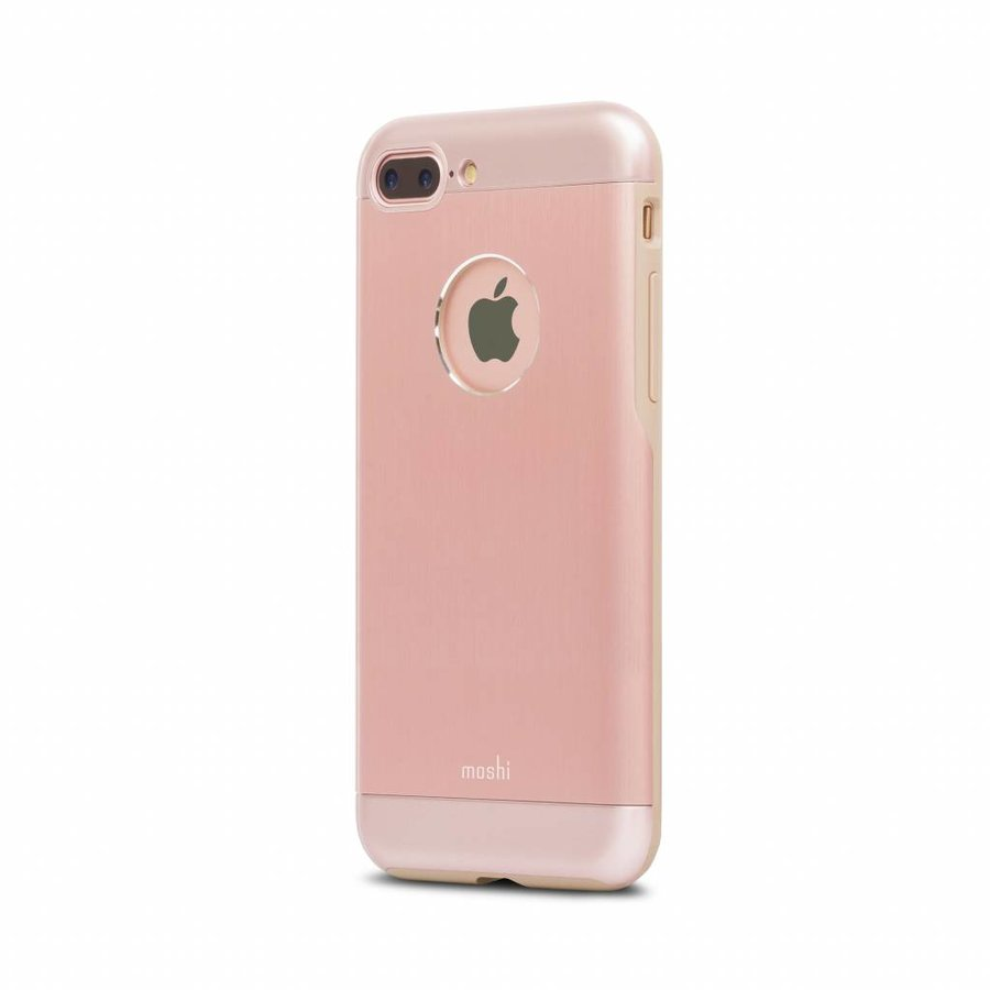 Moshi iGlaze Armour for iPhone 7/8 Plus golden rose-2