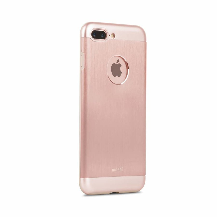 Moshi iGlaze Armour for iPhone 7/8 Plus golden rose-3