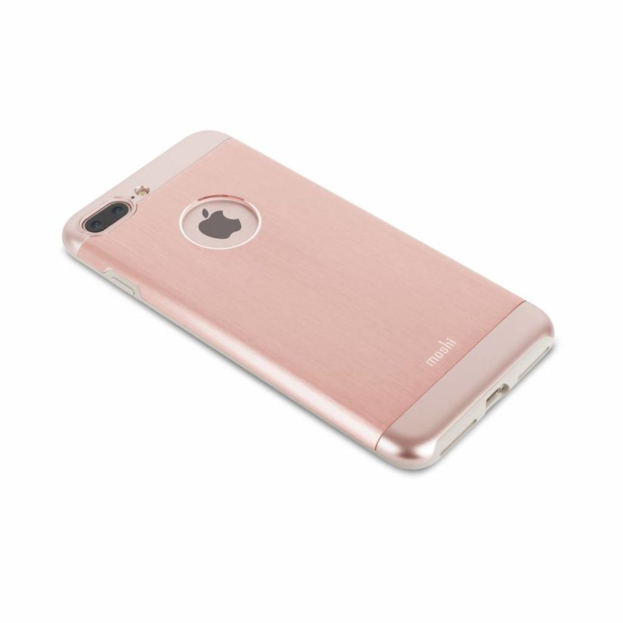 Moshi iGlaze Armour for iPhone 7/8 Plus golden rose-4