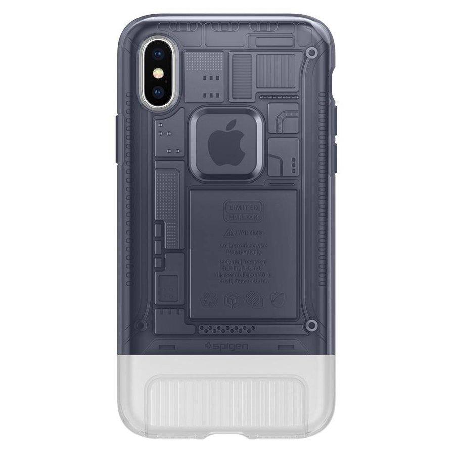 Spigen Classic C1 for iPhone X Graphite Gray-2