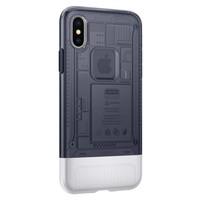 thumb-Spigen Classic C1 for iPhone X Graphite Gray-3