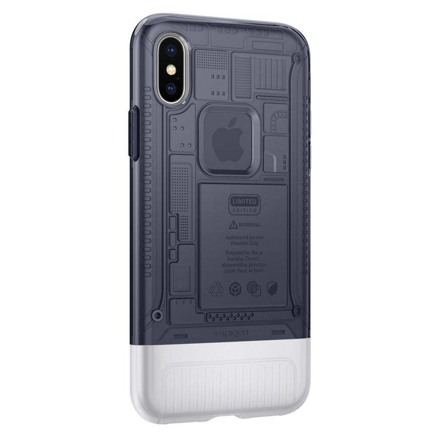 Spigen Classic C1 for iPhone X Graphite Gray-3
