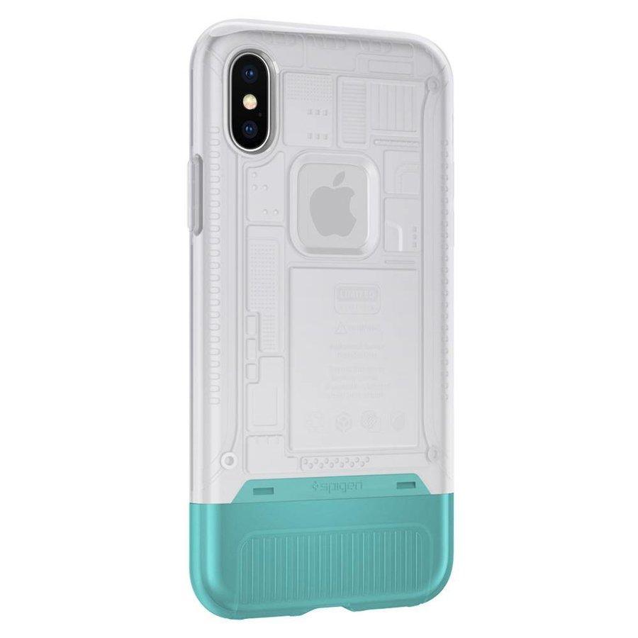 Spigen Classic C1 for iPhone X snow white-3