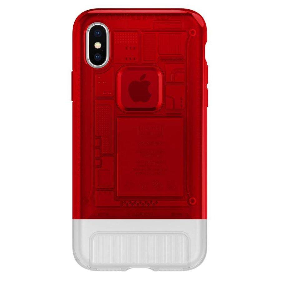 Spigen Classic C1 for iPhone X ruby-2