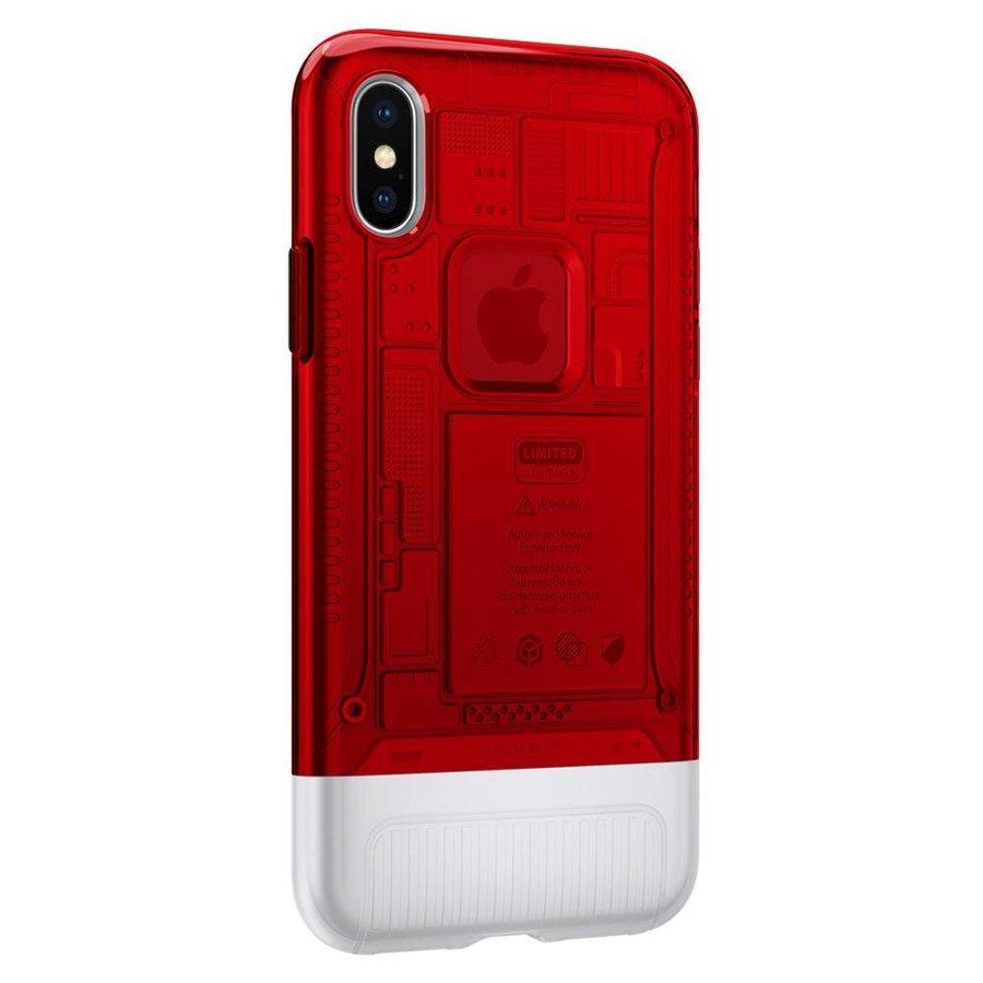 Spigen Classic C1 for iPhone X ruby-3
