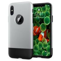 thumb-Spigen Classic One  for iPhone X aluminium-1