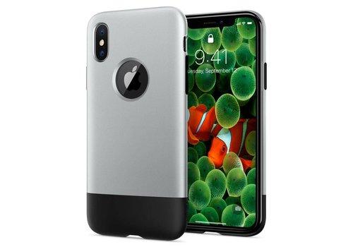 Spigen Classic One  for iPhone X aluminium