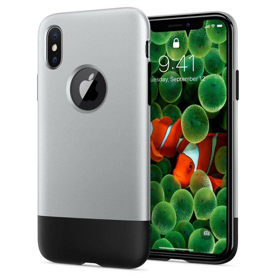 Spigen Classic One  for iPhone X aluminium-1