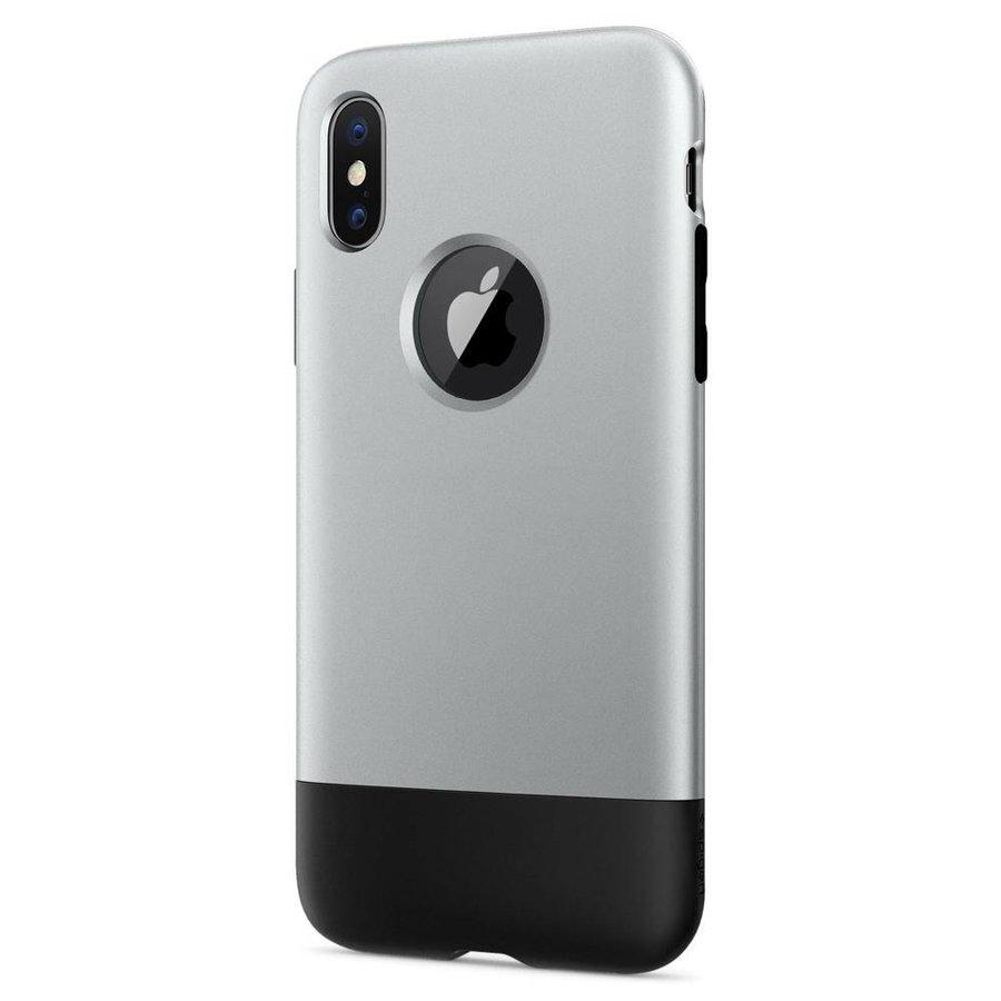 Spigen Classic One  for iPhone X aluminium-3