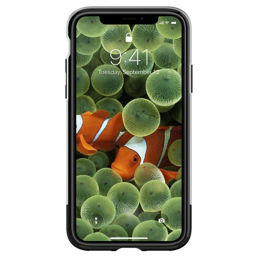 Spigen Classic One  for iPhone X aluminium-5
