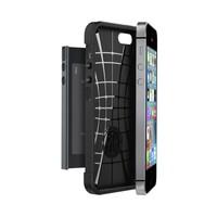 thumb-Spigen Slim Armor for iPhone 5/5s/SE metal slate-2