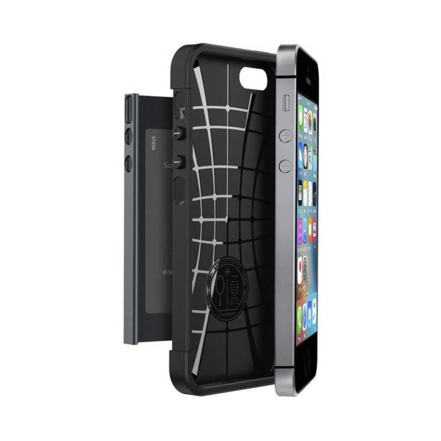 Spigen Slim Armor for iPhone 5/5s/SE metal slate-2