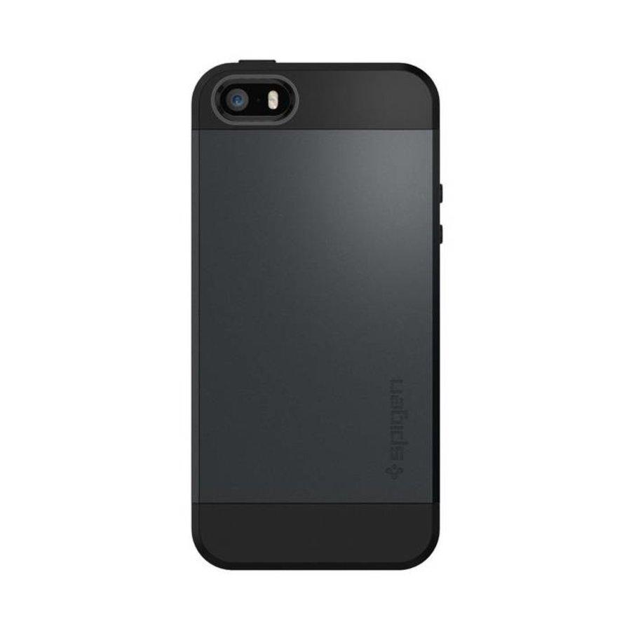 Spigen Slim Armor for iPhone 5/5s/SE metal slate-3