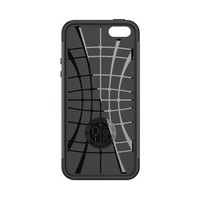 thumb-Spigen Slim Armor for iPhone 5/5s/SE metal slate-4