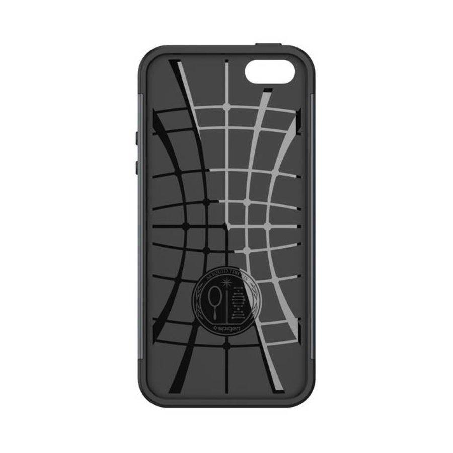 Spigen Slim Armor for iPhone 5/5s/SE metal slate-4
