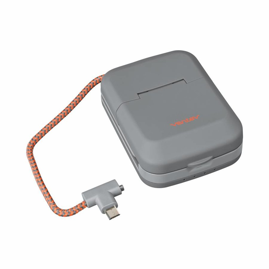 Ventev chargestand 3000c incl. microUSB cable grey-1