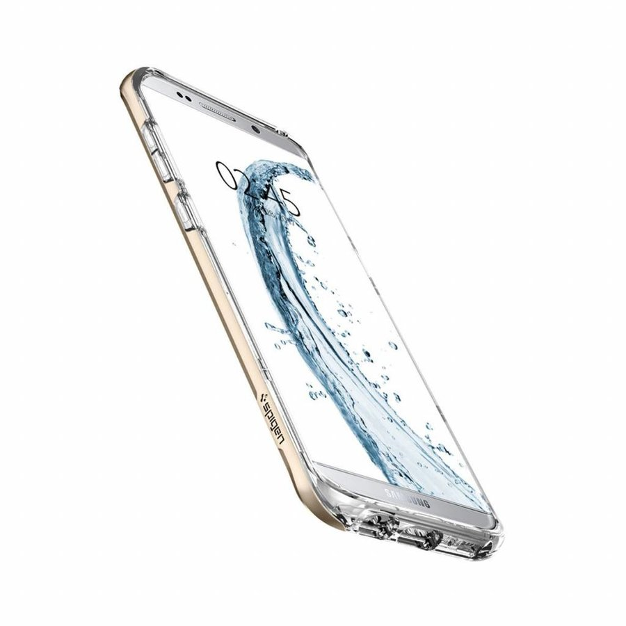 Spigen Neo Hybrid Crystal for Galaxy S8+ champagne gold-4