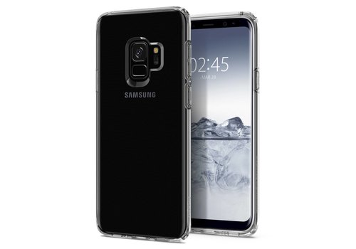 Spigen Liquid Crystal for Galaxy S9 crystal clear