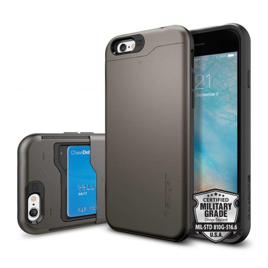 Spigen Slim Armor CS for iPhone 6/6s gun metal-2