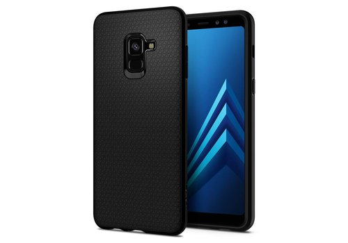 Spigen Liquid Air for GALAXY A8 (2018) matt black