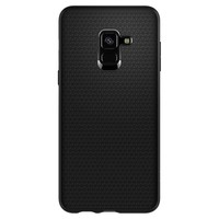 thumb-Spigen Liquid Air for GALAXY A8 (2018) matt black-2