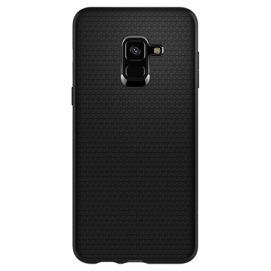 Spigen Liquid Air for GALAXY A8 (2018) matt black-2