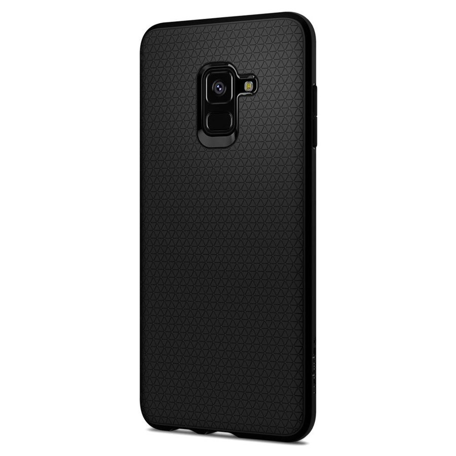 Spigen Liquid Air for GALAXY A8 (2018) matt black-3