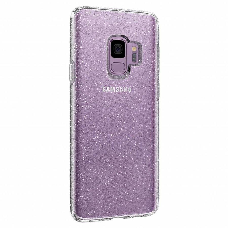 Spigen Liquid Crystal Glitter  for Galaxy S9 clear-3