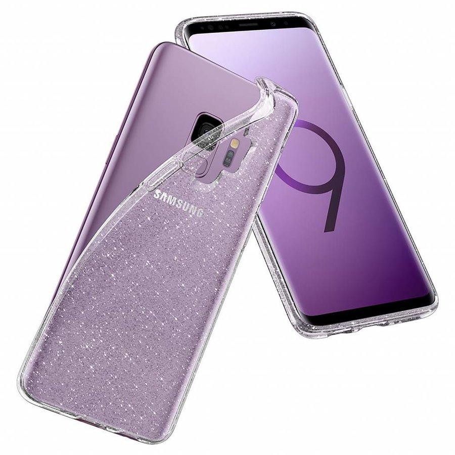 Spigen Liquid Crystal Glitter  for Galaxy S9 clear-5