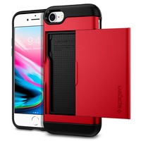 thumb-Spigen Slim Armor CS for iPhone 7/8 red-1
