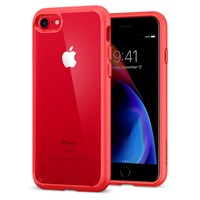 thumb-Spigen Ultra Hybrid 2 for iPhone 7/8 red-1