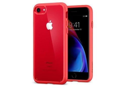 Spigen Ultra Hybrid 2 for iPhone 7/8 red