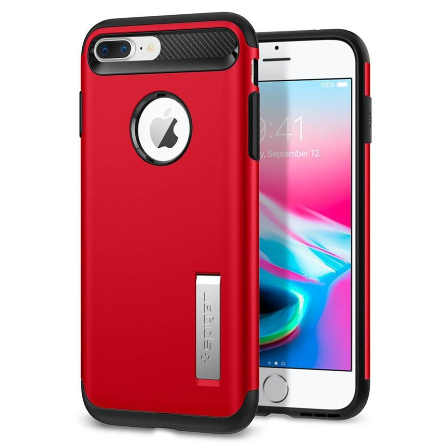 Spigen Slim Armor  for iPhone 7/8 Plus red-1