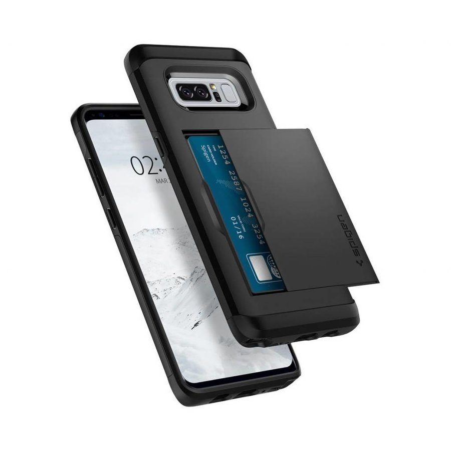 Spigen Slim Armor CS for Galaxy Note 8 black-5