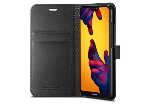 Spigen Wallet S for P20 Lite black