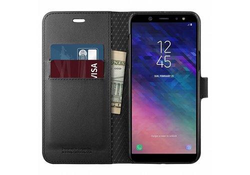 Spigen Wallet S  for Galaxy A6 (2018) black