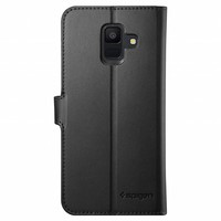 thumb-Spigen Wallet S  for Galaxy A6 (2018) black-2