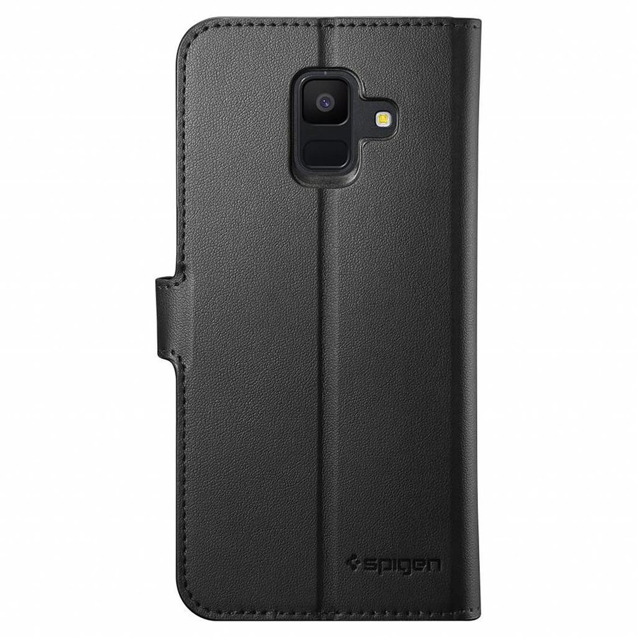 Spigen Wallet S  for Galaxy A6 (2018) black-2