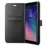 thumb-Spigen Wallet S  for Galaxy A6 (2018) black-3