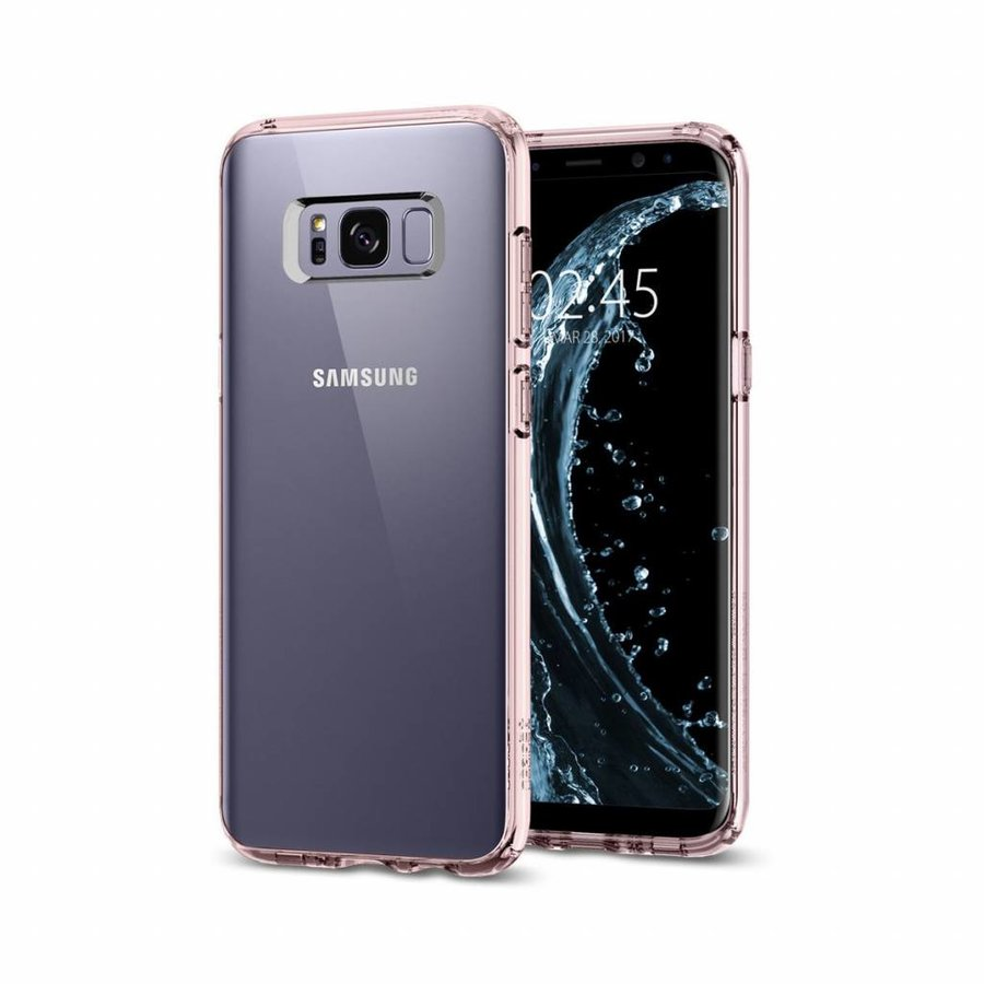 Spigen Ultra Hybrid for Galaxy S8+ pink-4