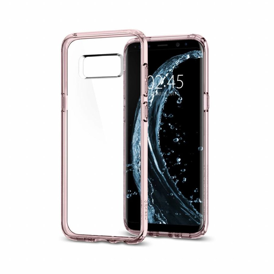 Spigen Ultra Hybrid for Galaxy S8+ pink-5