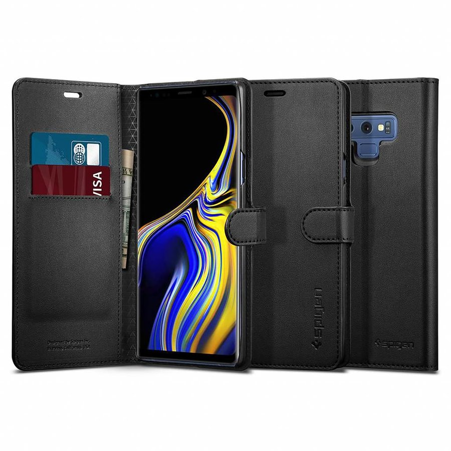 Spigen Wallet S  for Galaxy Note 9 black-4